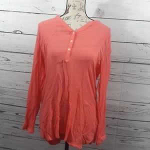 NEW Old Navy sz M Old Navy tunic salmon
